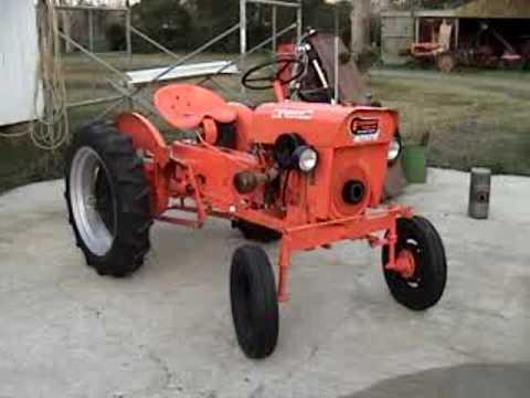 Powerking Economy Tractor 1965 k331 - YouTube