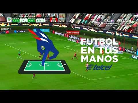 Chivas [3] - 0 Atlas - Isaac Brizuela 85'