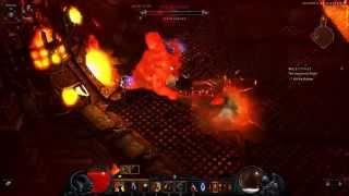 Diablo 3 RoS - Butcher Fight