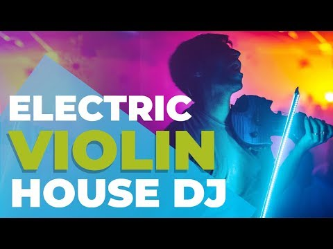 Electric Violin djset feat. Daniele Paggi @ Exe, Rome (Italy) | Andrea Casta live in 4K
