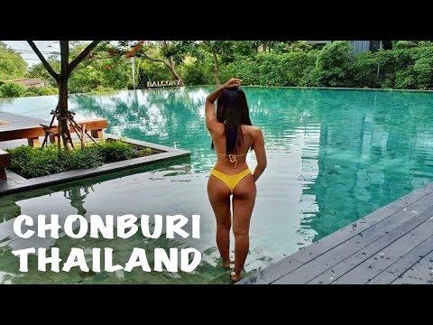 Taking This Beautiful Girl To Chonburi - BANGKOK TO CHONBURI THAILAND