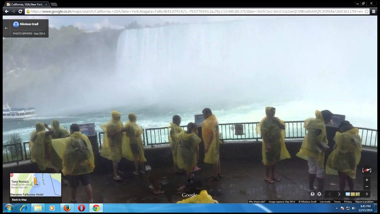 The Closest View Of Niagara Falls New