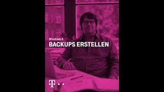 Datensicherheit beginnt mit einem guten Backup Windows 8