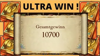 Book of Dead - ULTRA WIN - VOLLBILD Aktion im Online Casino!