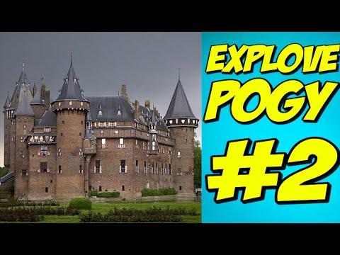 Zámok s Youtubermi ● Explove Pogy #2