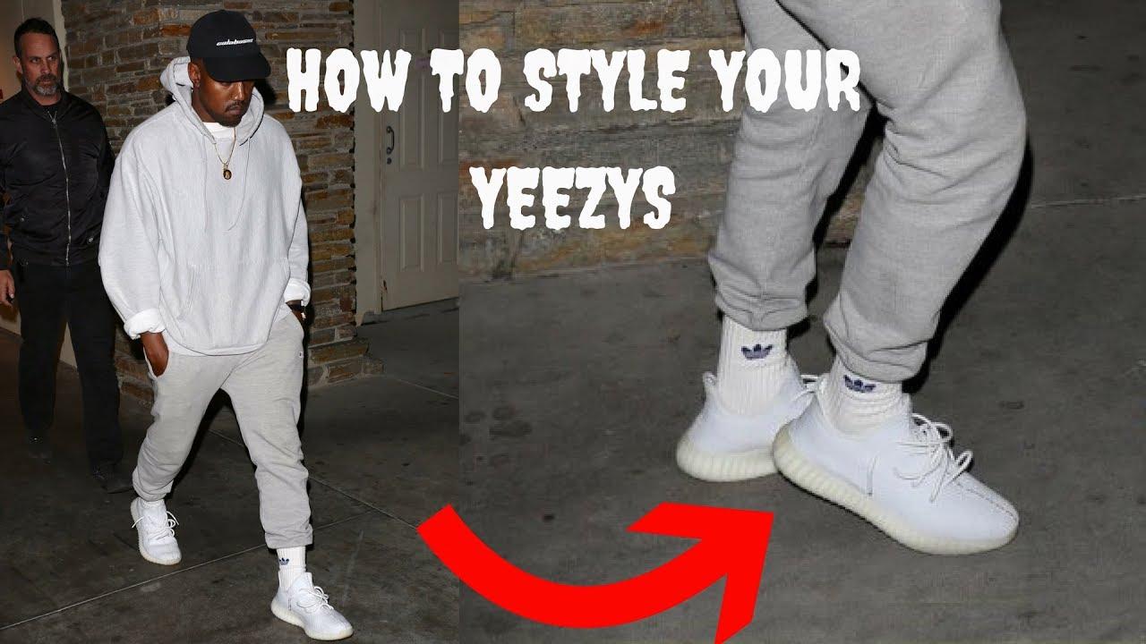 świetne dopasowanie Cena fabryczna sklep z wyprzedażami How to lace your Yeezys like Kanye