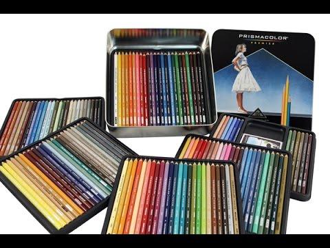 Prismacolor Pencils - 132 Set Unboxing - Asurekazani