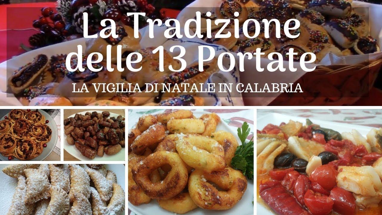 Antipasti Calabresi Di Natale.Menu Tradizionale Delle 13 Portate Alla Vigilia Di Natale In Calabria Youtube