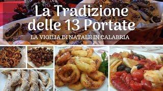 Menu Tradizionale delle 13 Portate alla Vigilia di Natale in Calabria