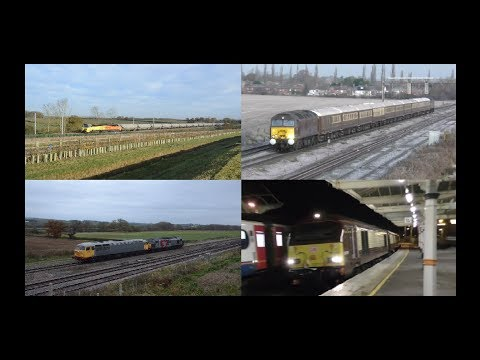 Midlands Motive Power Highlights   November 2017, Part 2 HD
