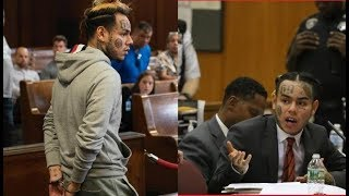 6ix9ine and Tr3yWay (Shotti) Facing 25 Years to Life in Prison on Multiple Counts of Racketeering.