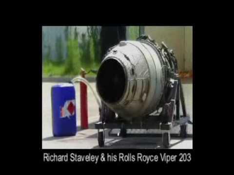 Roll Royce Viper 203 belonging to Richard Staveley