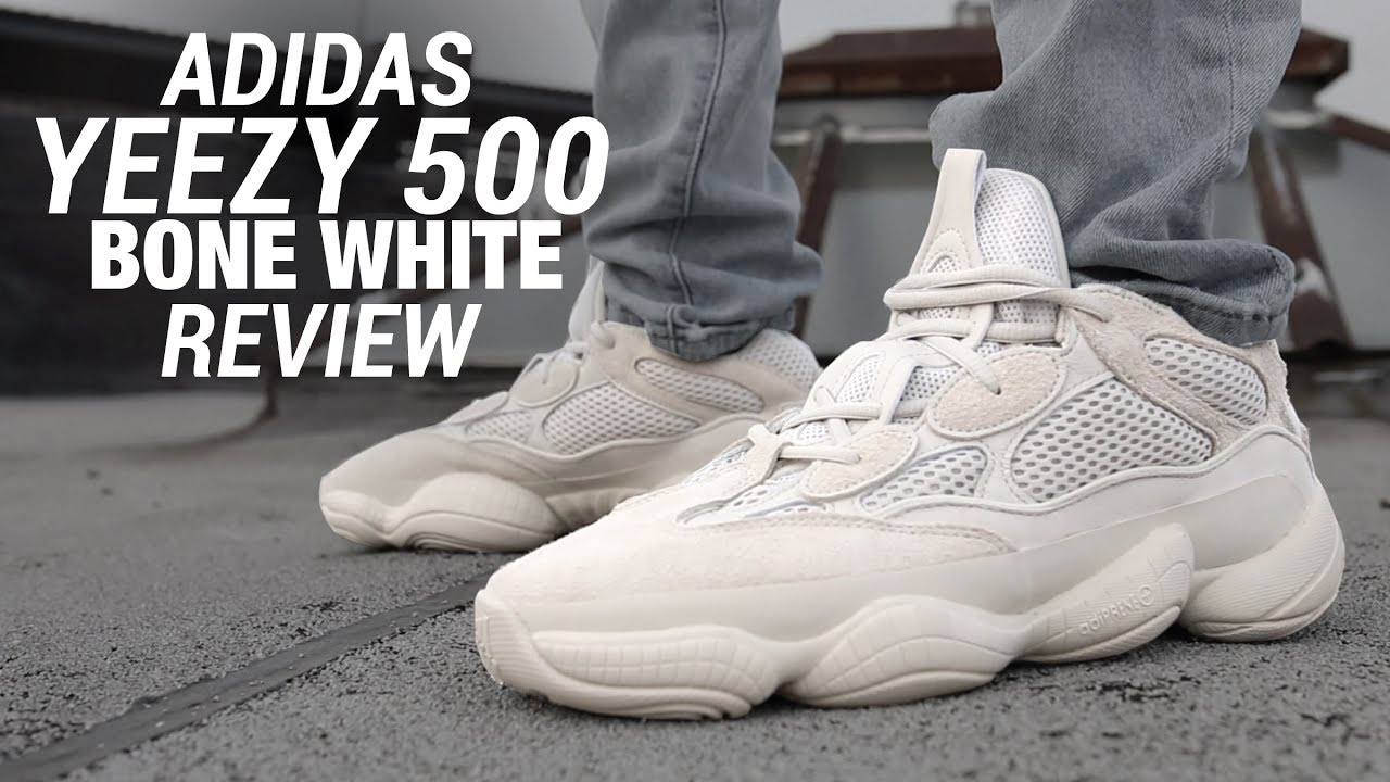 new arrival 500fd fc2dd Adidas YEEZY 500 Bone White REVIEW & ON FEET