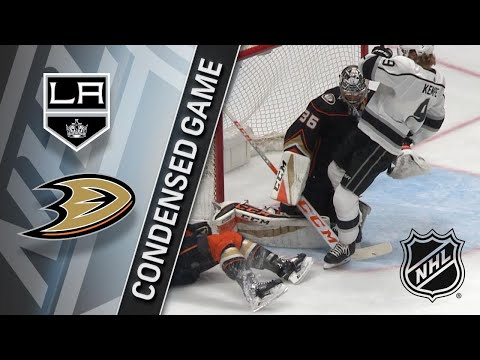 01/19/18 Condensed Game: Kings @ Ducks