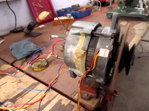 Home made speed controller bldc alternator motor testing for Speed control of bldc motor
