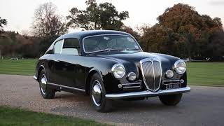 Lord March and his beautiful Lancia Aurelia B20 Coupe
