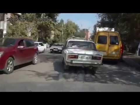 Неудачная перевозка груза на легковом автомобиле