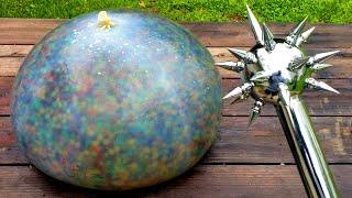 Giant Orbeez Water Balloon? What Happens?