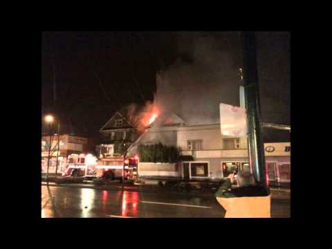 Radio Audio - Vancouver 2nd Alarm House Fire with Rescues
