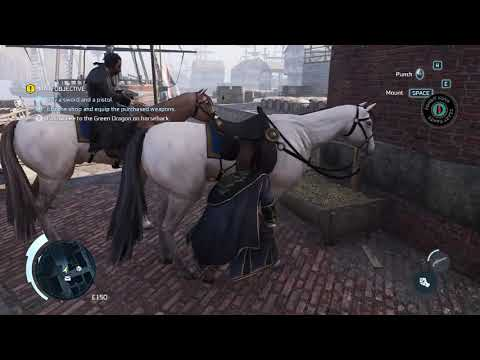 Assassin's Creed 3 Remastered Horse Riding In Boston