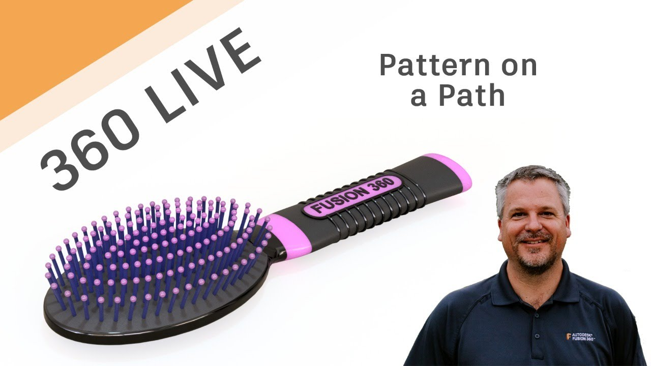 Fusion 360 Live - Pattern on a Path