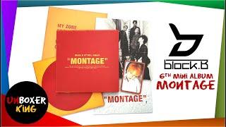 Block B 블락비 6th Mini Album ????? - Montage Album Unboxing