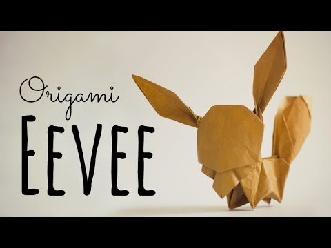 How To Make An Origami Eevee