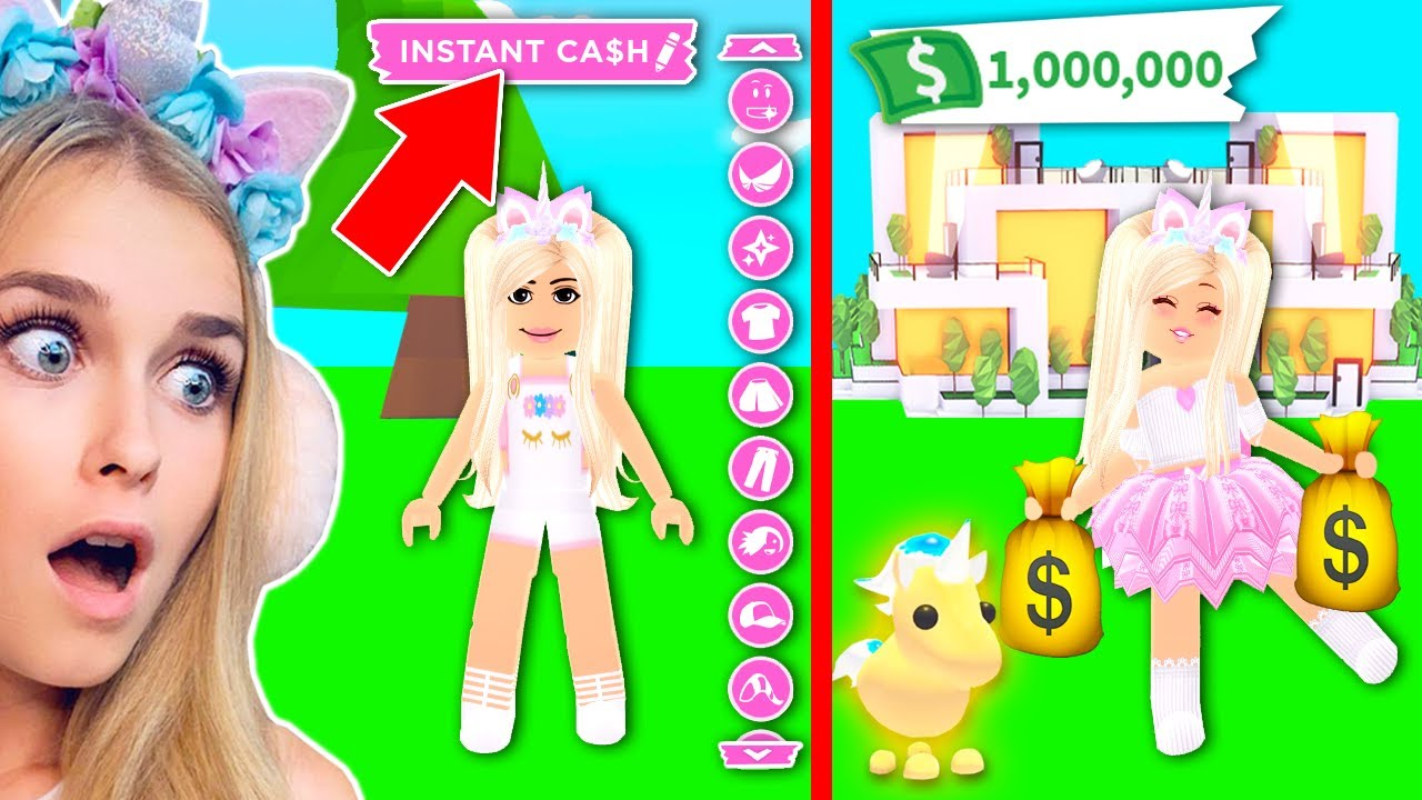 Does This New Hack Make You Rich In Adopt Me Roblox Youtube