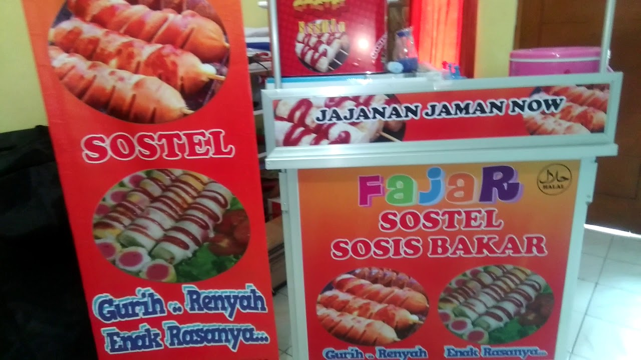 franchise kombinasi usaha makanan sostel sosis telor sosis bakar jumbo youtube sostel sosis telor sosis bakar jumbo
