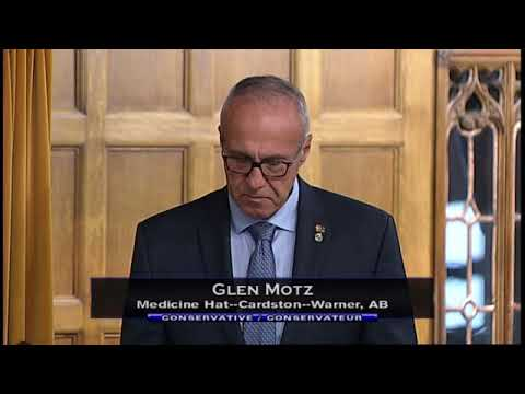 MP Motz Pays Tribute to James Hargrave in the House