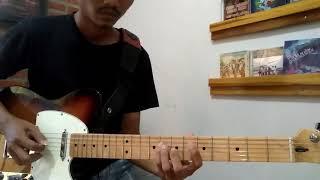 Latihan Solo Gitar Lagu Dimanakah Kau Berada - GIGI