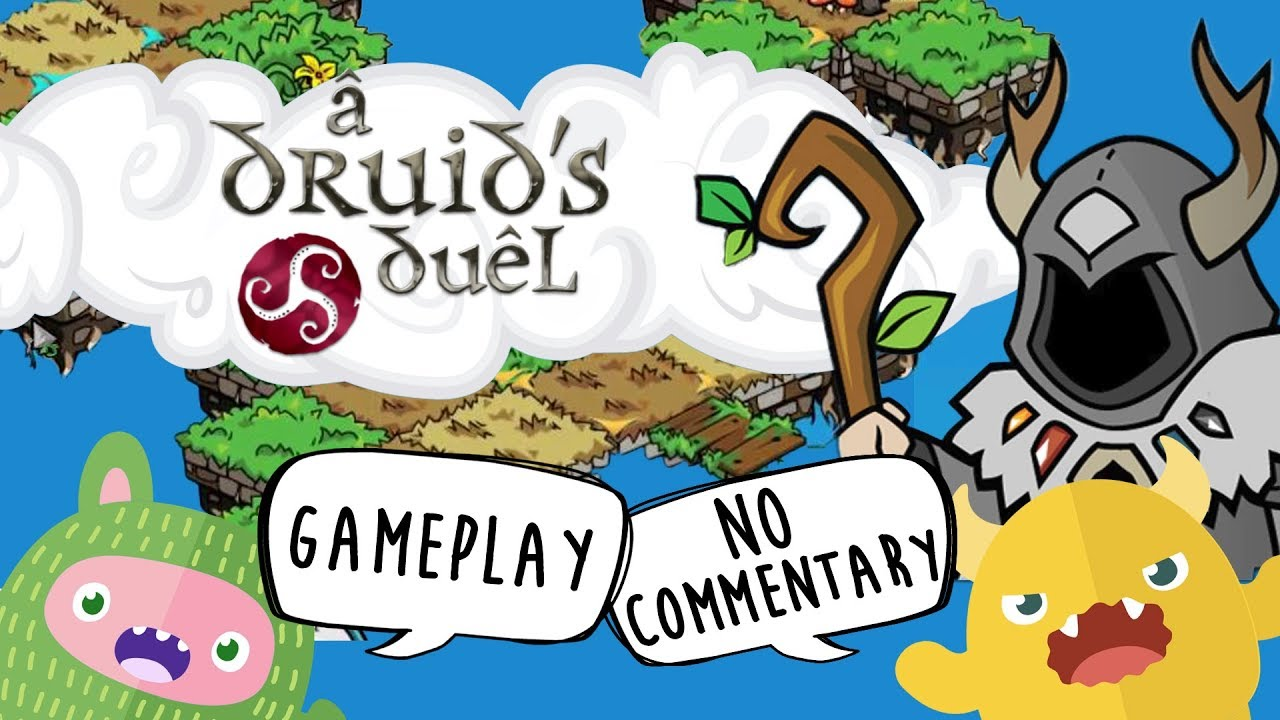 A Druid's Duel Gameplay – Strategic Land Grabbing Game (No Commentary Gaming)