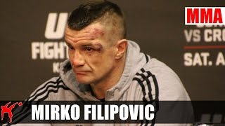 Mirko Filipovic after UFC Fight Night 64