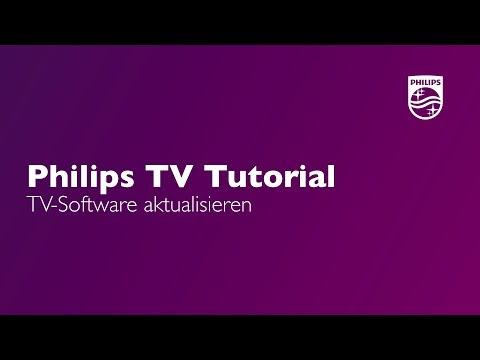 TV-Software aktualisieren - Philips TV Tutorial