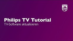 TV-Software aktualisieren - Philips TV Tutorial