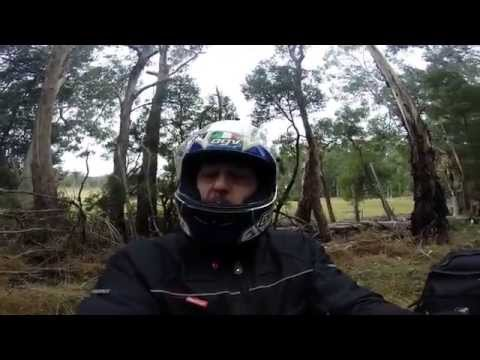 motorcycle touring of the Otway Ranges