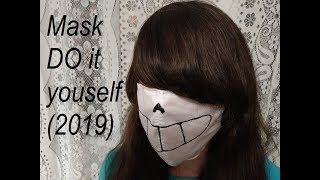 #Sansmask Маска на лицо (своими руками) Mask DO it youself (2019)