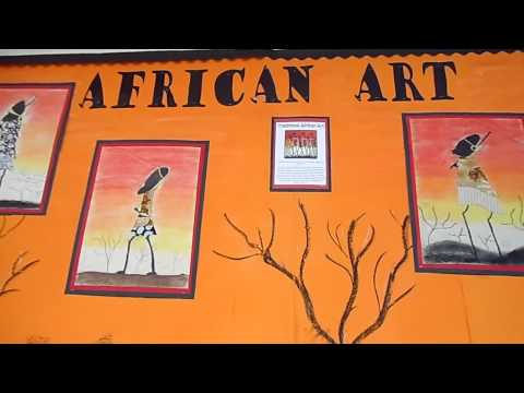 african art in the junior school
