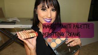 Depotting Creams x Vueset Tahiti | Jdguzmnmua