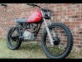 Honda XL185 Tracker custom by LongShotMoto