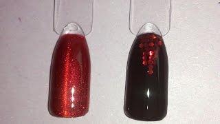 Дизайн ногтей витражный гель-лак For You 35 и шестигранники - Luxury Nails