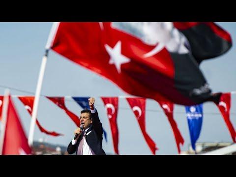 تركيا: أكرم إمام أوغلو يحتفل بفوزه برئاسة بلدية إسطنبول أمام مرشح أردوغان  - نشر قبل 2 ساعة