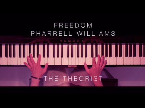 Pharrell Williams - Freedom | The Theorist Piano Cover