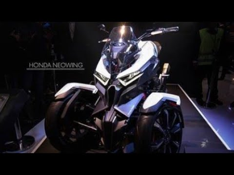 Honda Neowing Three Wheeler Replacing Goldwing Youtube