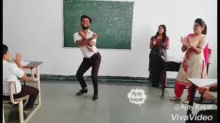 Haryanvi Dance In School Boys Dance By ajay kayat Song || gadn jogi teri to batine nyari s