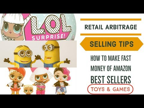 Amazon Retail Arbitrage | HOT TOY ALERT | L.O.L. SURPRISE DOLLS (ep71)