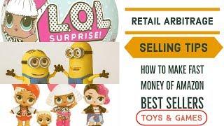 Amazon Retail Arbitrage | HOT TOY ALERT 2018 | L.O.L. SURPRISE DOLLS