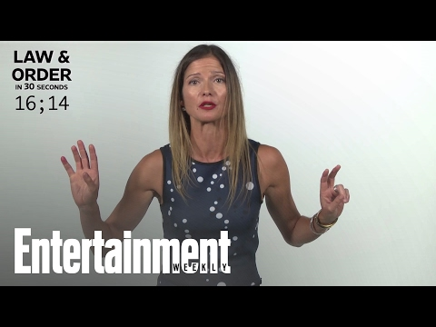 25 Years Of 'Law & Order' In 30 Seconds | Entertainment Week