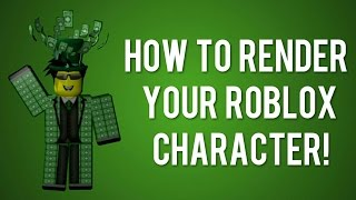 How To Render Your Roblox Character In Blender! [Tutorial]