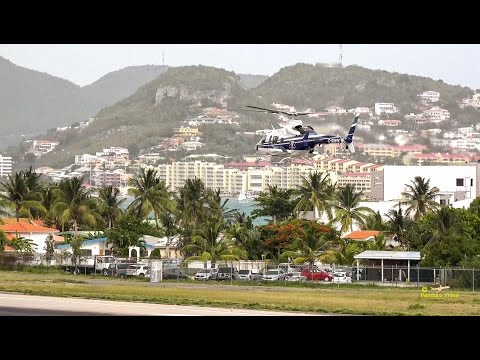 4K | St Maarten Amazing Plane landing and Takeoff footage at Princess Juliana Airport #13